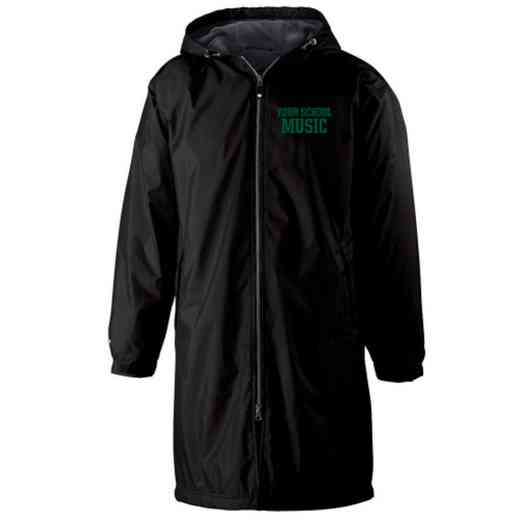 Music Embroidered Holloway Conquest Stadium Jacket