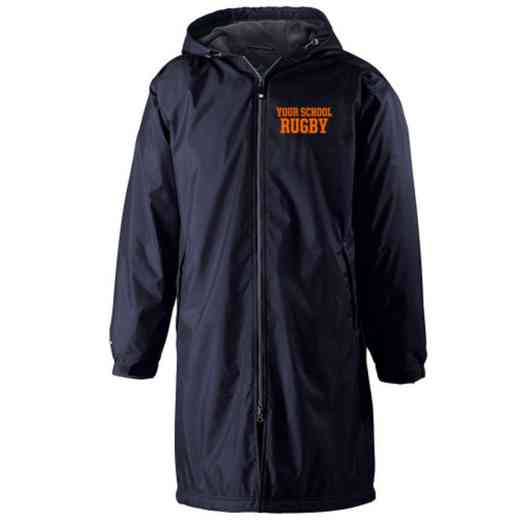 Rugby Embroidered Holloway Conquest Stadium Jacket