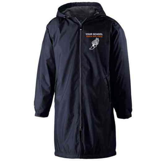 Track and Field Embroidered Holloway Conquest Stadium Jacket