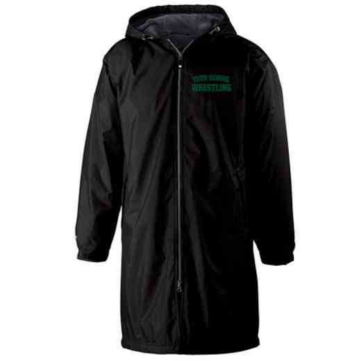 Wrestling Embroidered Holloway Conquest Stadium Jacket