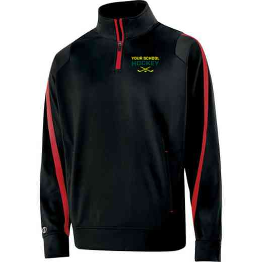 Hockey Embroidered Adult Holloway Determination Pullover