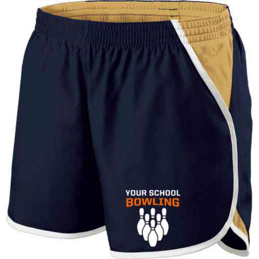 Bowling Holloway Embroidered Ladies Energize Short