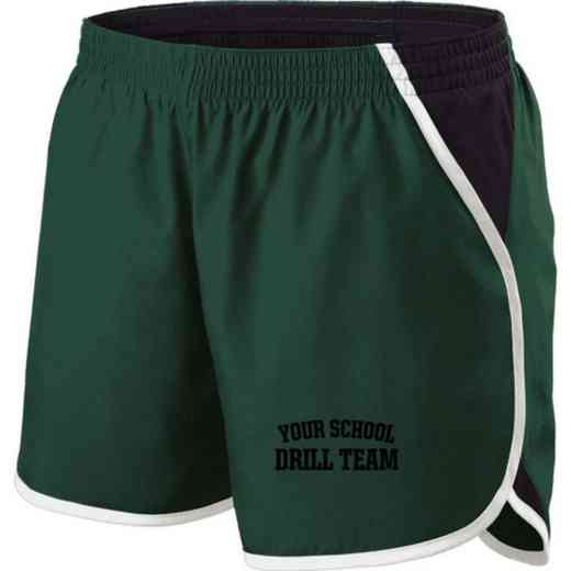 Drill Team Holloway Embroidered Ladies Energize Short