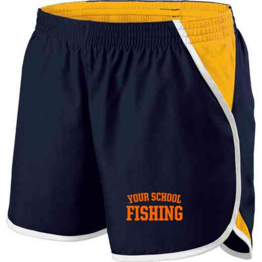 Fishing Holloway Embroidered Ladies Energize Short