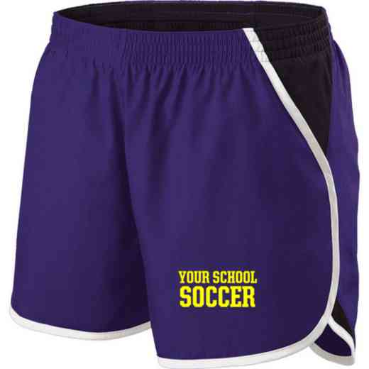 Soccer Holloway Embroidered Ladies Energize Short