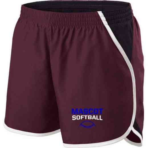 Softball Holloway Embroidered Ladies Energize Short