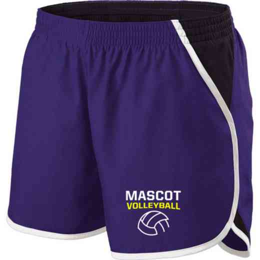Volleyball  Holloway Embroidered Ladies Energize Short