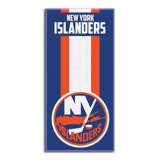 1NHL620000014RET: NHL 620 Islanders Zone Read Beach Towel
