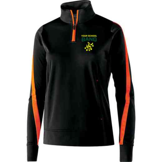 Band Embroidered Ladies Holloway Determination Pullover