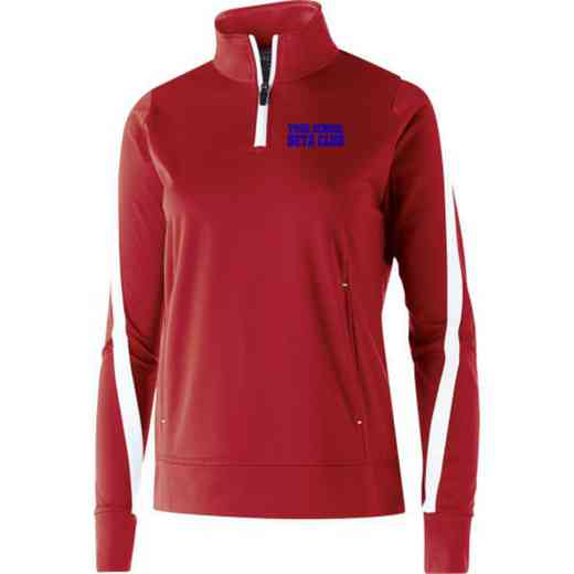 Beta Club Embroidered Ladies Holloway Determination Pullover
