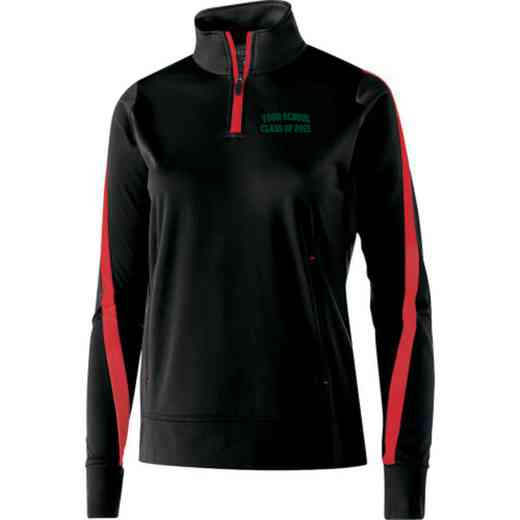 """Class of """""""" Embroidered Ladies Holloway Determination Pullover"""