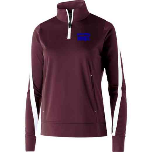 Music Embroidered Ladies Holloway Determination Pullover
