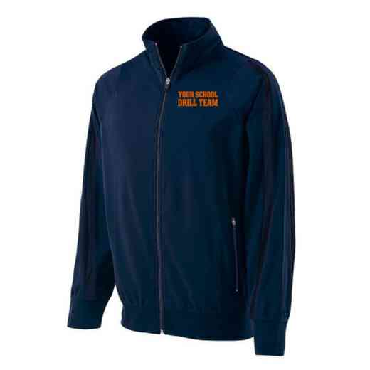 Drill Team Embroidered Youth Holloway Determination Jacket