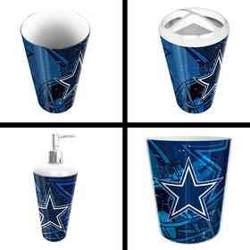 1NFL951000009RET: NFL 951 Cowboys 4pc Bath Set
