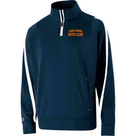 Beta Club Embroidered Youth Holloway Determination Pullover