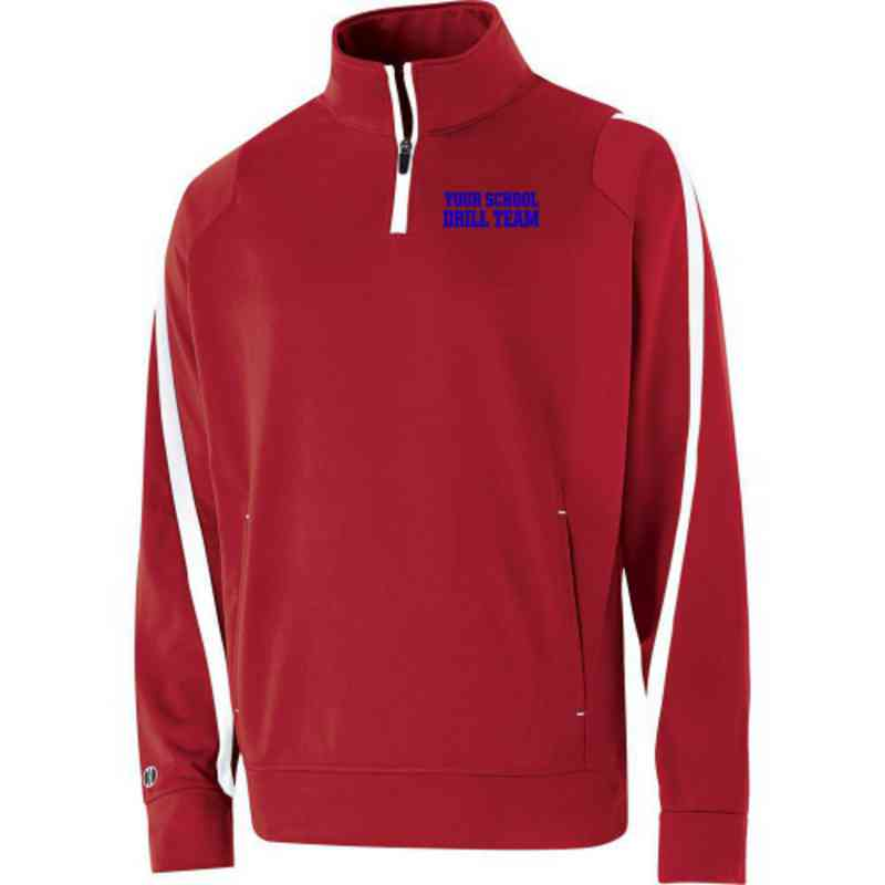 Drill Team Embroidered Youth Holloway Determination Pullover