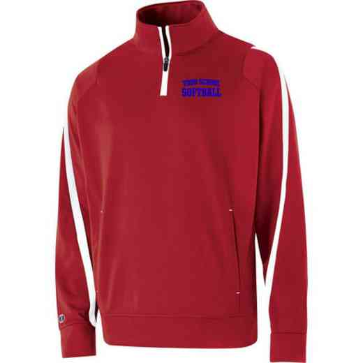Softball Embroidered Youth Holloway Determination Pullover