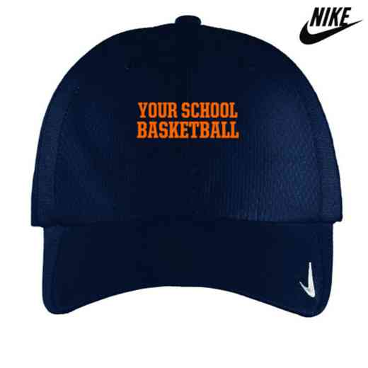 Basketball Embroidered Nike Sphere Dry Cap