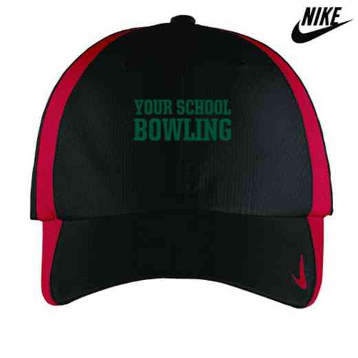 Bowling Embroidered Nike Sphere Dry Cap