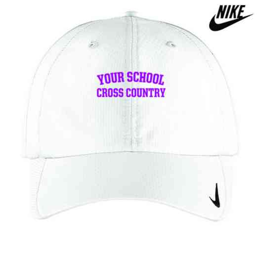 Cross Country Embroidered Nike Sphere Dry Cap