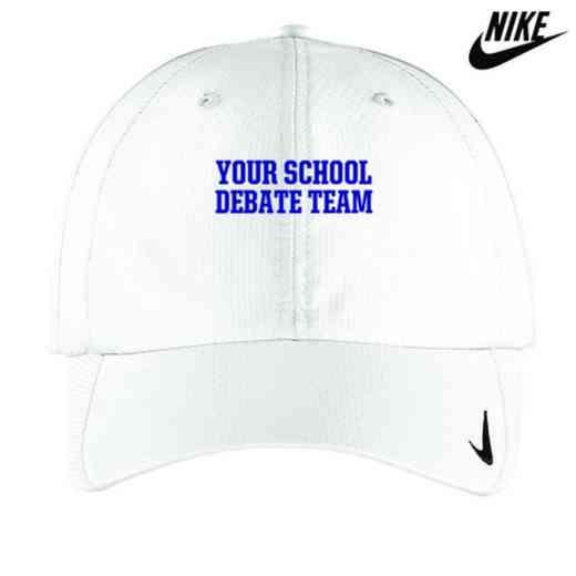 Debate Team Embroidered Nike Sphere Dry Cap