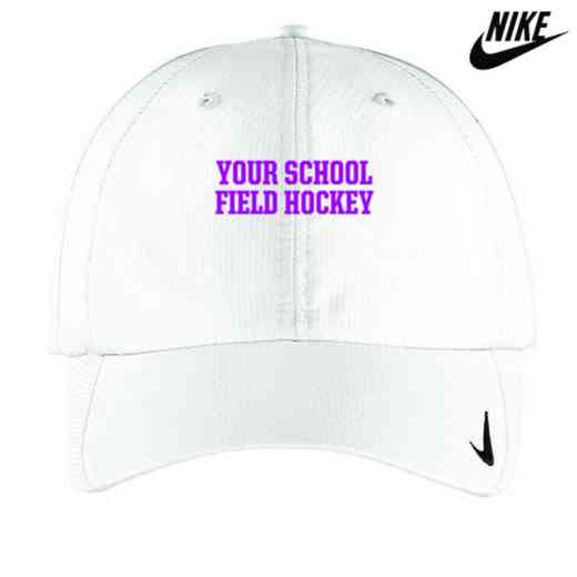 Field Hockey Embroidered Nike Sphere Dry Cap