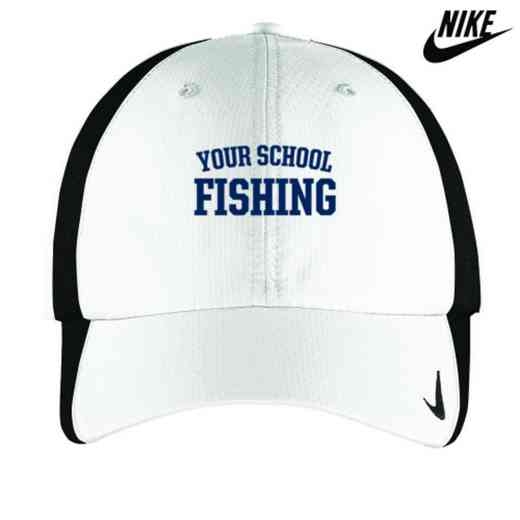 Fishing Embroidered Nike Sphere Dry Cap