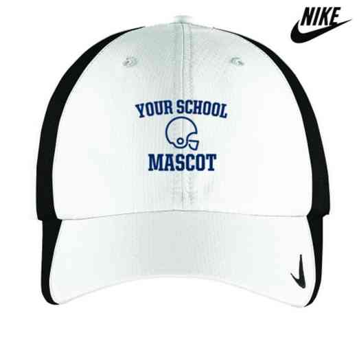 Football Embroidered Nike Sphere Dry Cap