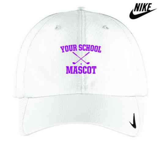 Golf Embroidered Nike Sphere Dry Cap