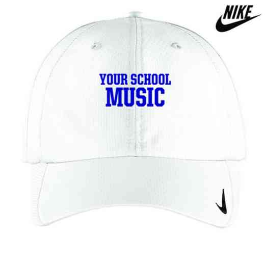 Music Embroidered Nike Sphere Dry Cap