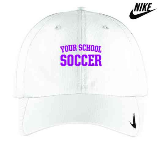 Soccer Embroidered Nike Sphere Dry Cap