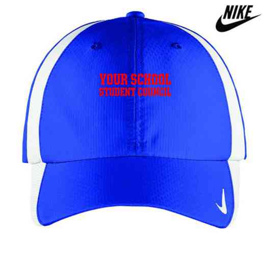 Student Council Embroidered Nike Sphere Dry Cap