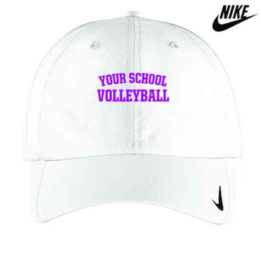Volleyball  Embroidered Nike Sphere Dry Cap