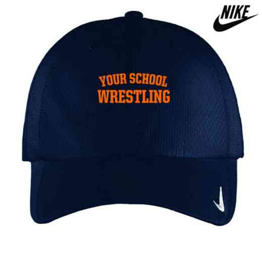 Wrestling Embroidered Nike Sphere Dry Cap