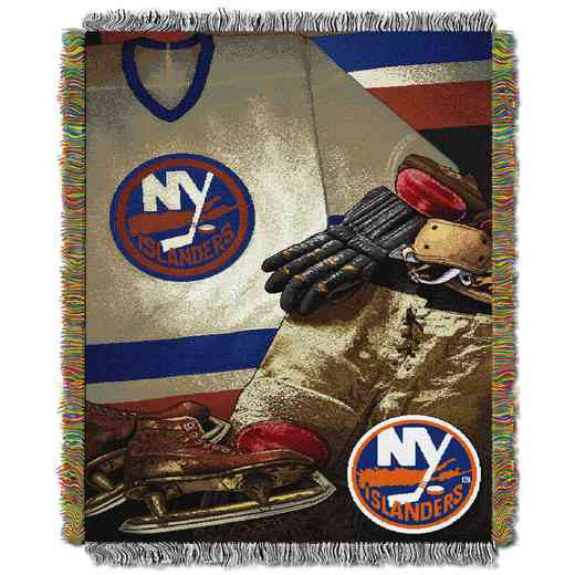 1NHL051020014RET: NW VINTAGE TAPESTRY THROW, ISLANDERS
