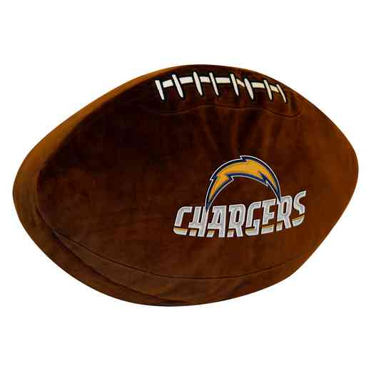 1NFL199000079RET: NW NFL 3D SPORTS PILLOW, CHARGERS