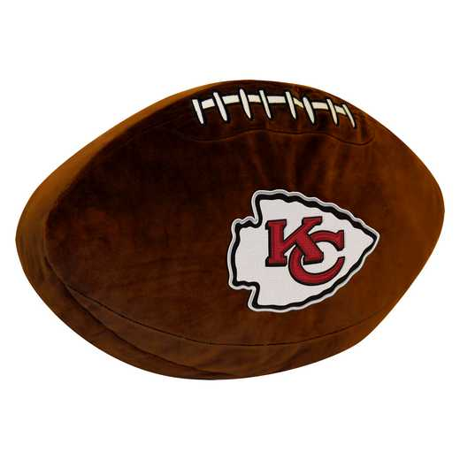 1NFL199000007RET: NW NFL 3D SPORTS PILLOW, CHIEFS