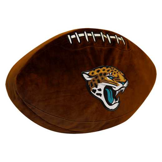 1NFL199000014RET: NW NFL 3D SPORTS PILLOW, JAGUARS