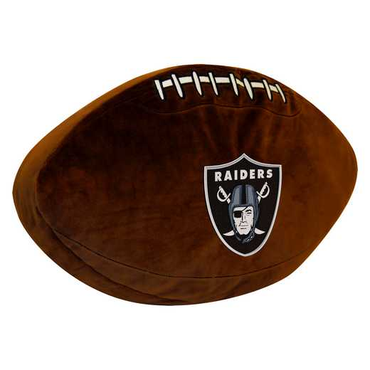 1NFL199000019RET: NW NFL 3D SPORTS PILLOW, RAIDERS