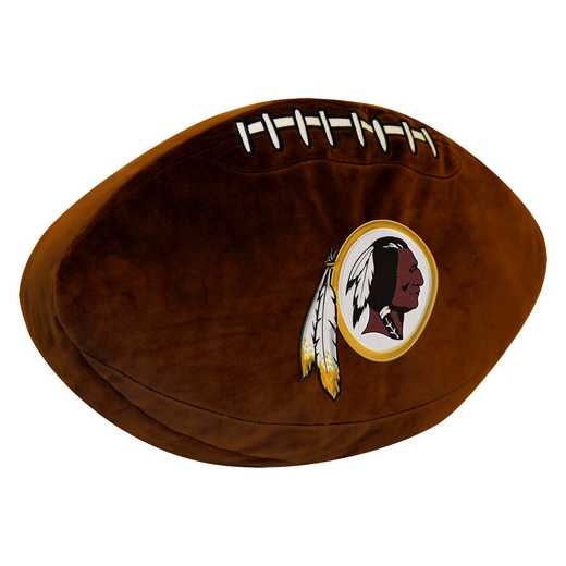 1NFL199000020RET: NW NFL 3D SPORTS PILLOW, REDSKINS