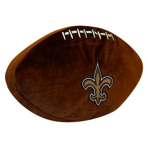 1NFL199000021RET: NW NFL 3D SPORTS PILLOW, SAINTS