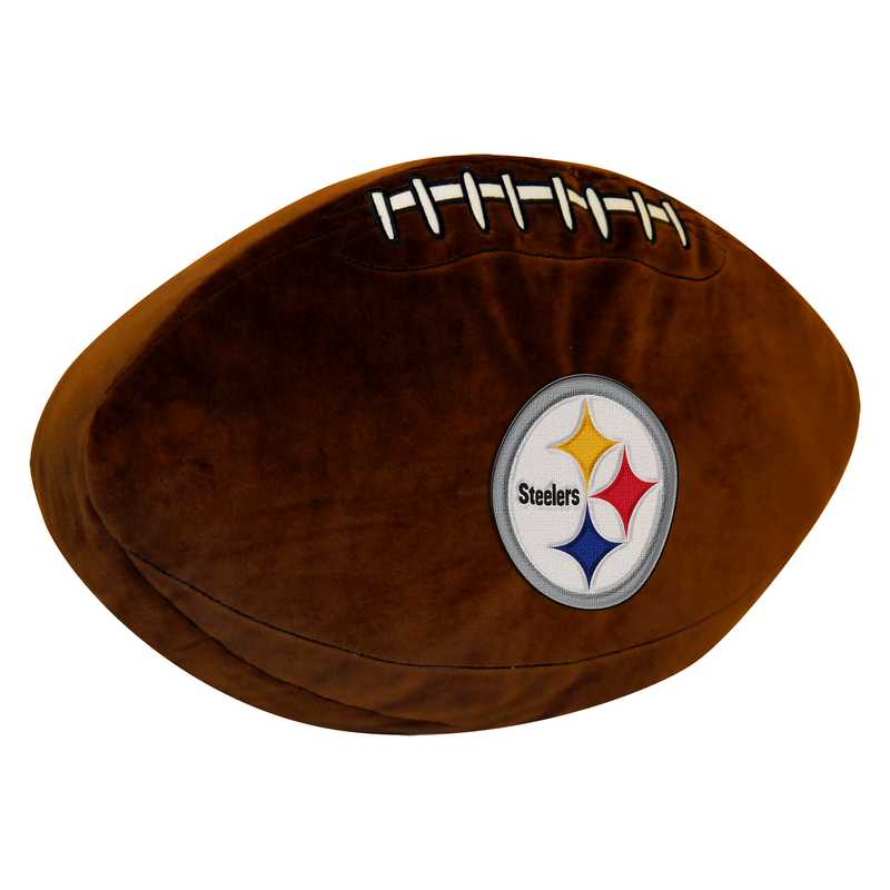 1NFL199000078RET: NW NFL 3D SPORTS PILLOW, STEELERS