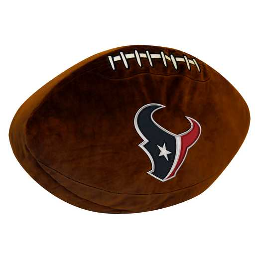 1NFL199000119RET: NW NFL 3D SPORTS PILLOW, TEXANS