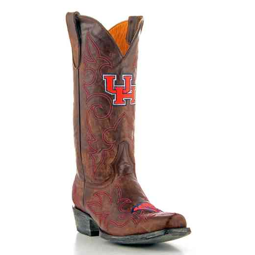 Men's University of Houston Cougars Tailgate Cowboy Boots by Gameday Boots