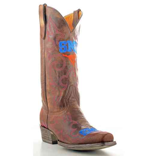 Men's SMU Mustangs Tailgate Cowboy Boots by Gameday Boots