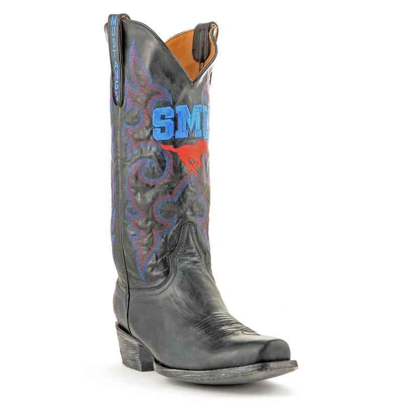Men's SMU Mustangs Executive Cowboy Boots