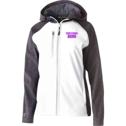 Band Embroidered Holloway Women's Raider Soft Shell Jacket
