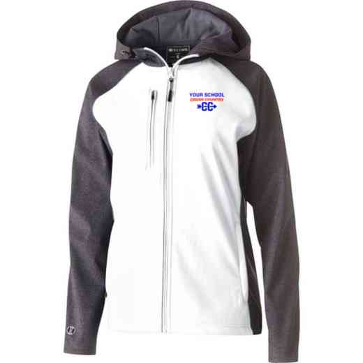 Cross Country Embroidered Holloway Women's Raider Soft Shell Jacket