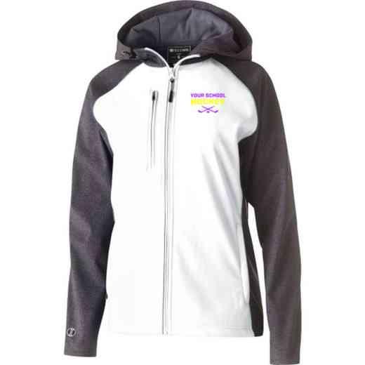 Hockey Embroidered Holloway Women's Raider Soft Shell Jacket