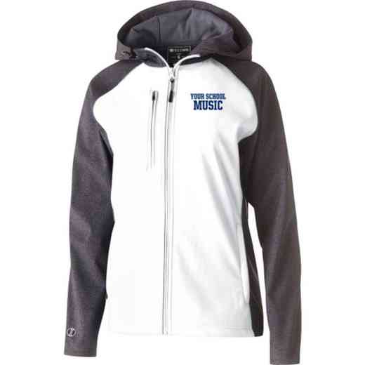 Music Embroidered Holloway Women's Raider Soft Shell Jacket